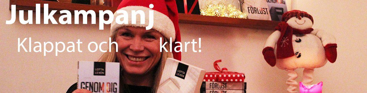 Julkampanj - klappat och klart, Lotta Lexén