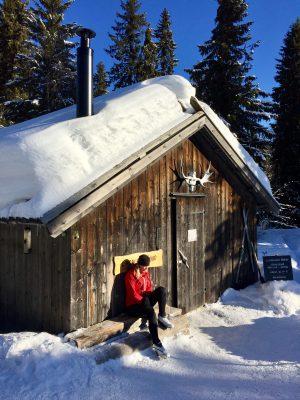 Mitt paradmoment vid längskidåkning: Våffelstuga